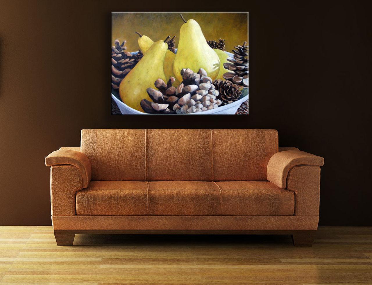 Richard T Pranke Golden Pears & Acorns