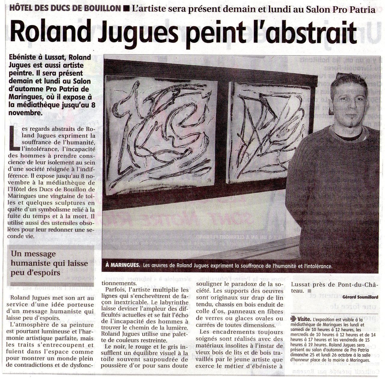 roland jugue article
