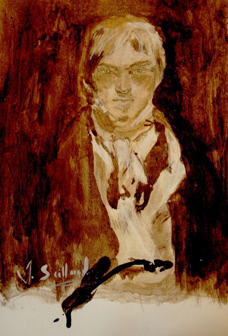sailland D'après l'autoportrait de Joseph Mallord William Turner