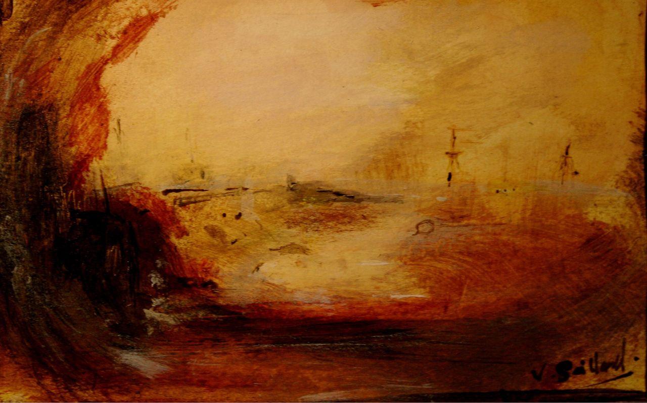 sailland Port en feu
