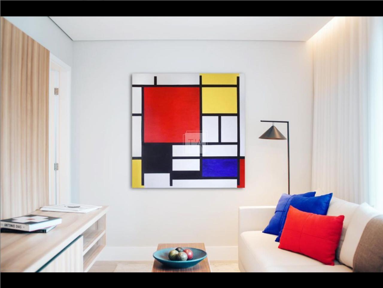 Sara Ezzair Reproduction Mondrian