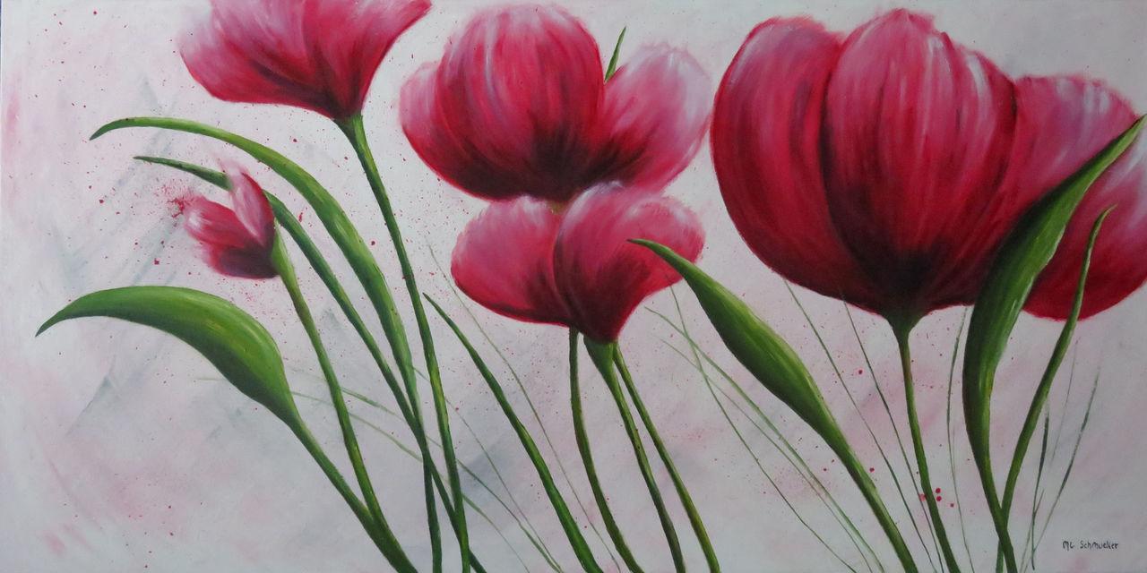 Schmucker Marie-Christine Fleurs roses