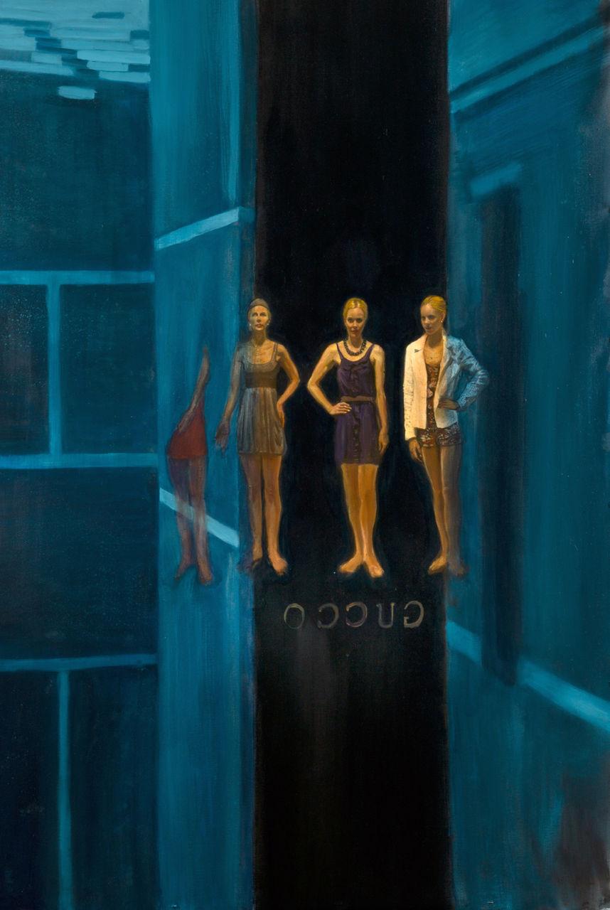 Serge Strosberg Reflection on blue