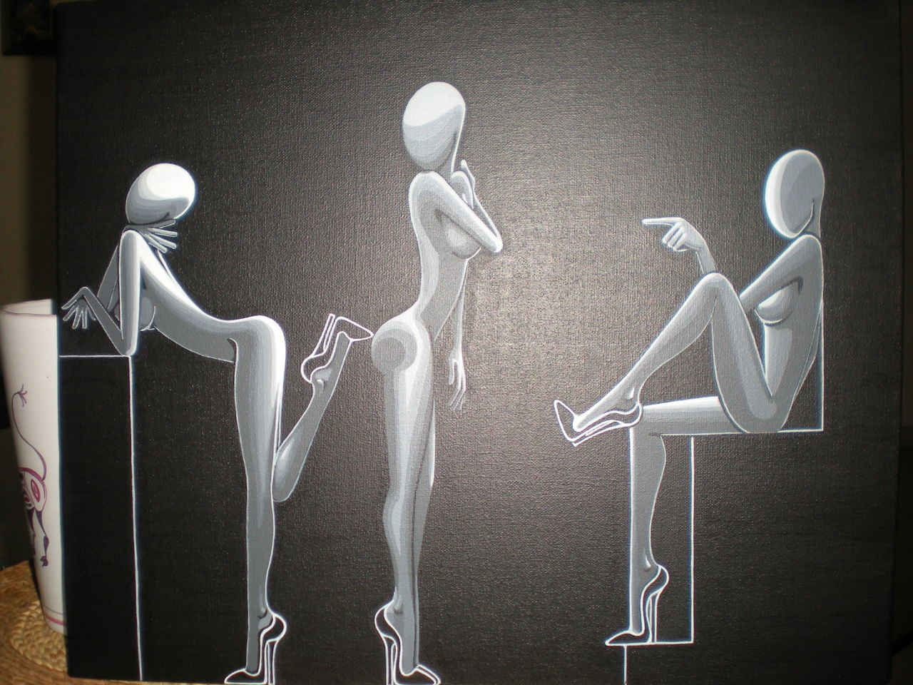 souad halima-rihoum dit SWAD en tant qu'artiste blaks rivales