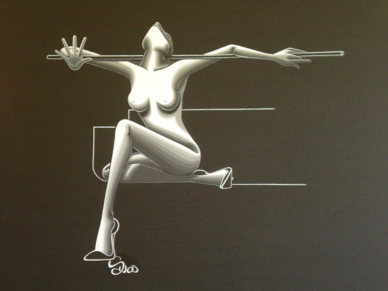 souad halima-rihoum dit SWAD en tant qu'artiste PAUSE AU BILLARD