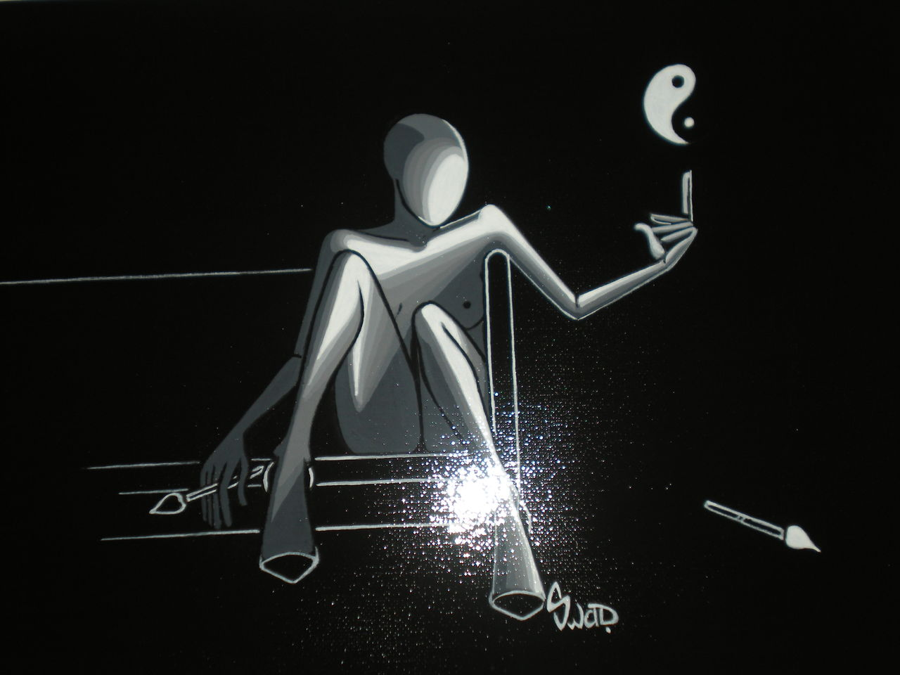 souad halima-rihoum dit SWAD en tant qu'artiste SANS NOM