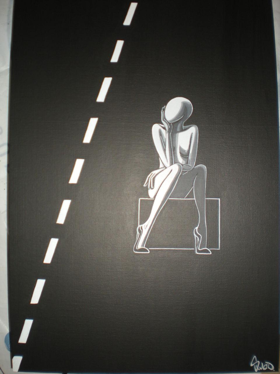 souad halima-rihoum dit SWAD en tant qu'artiste sur la route