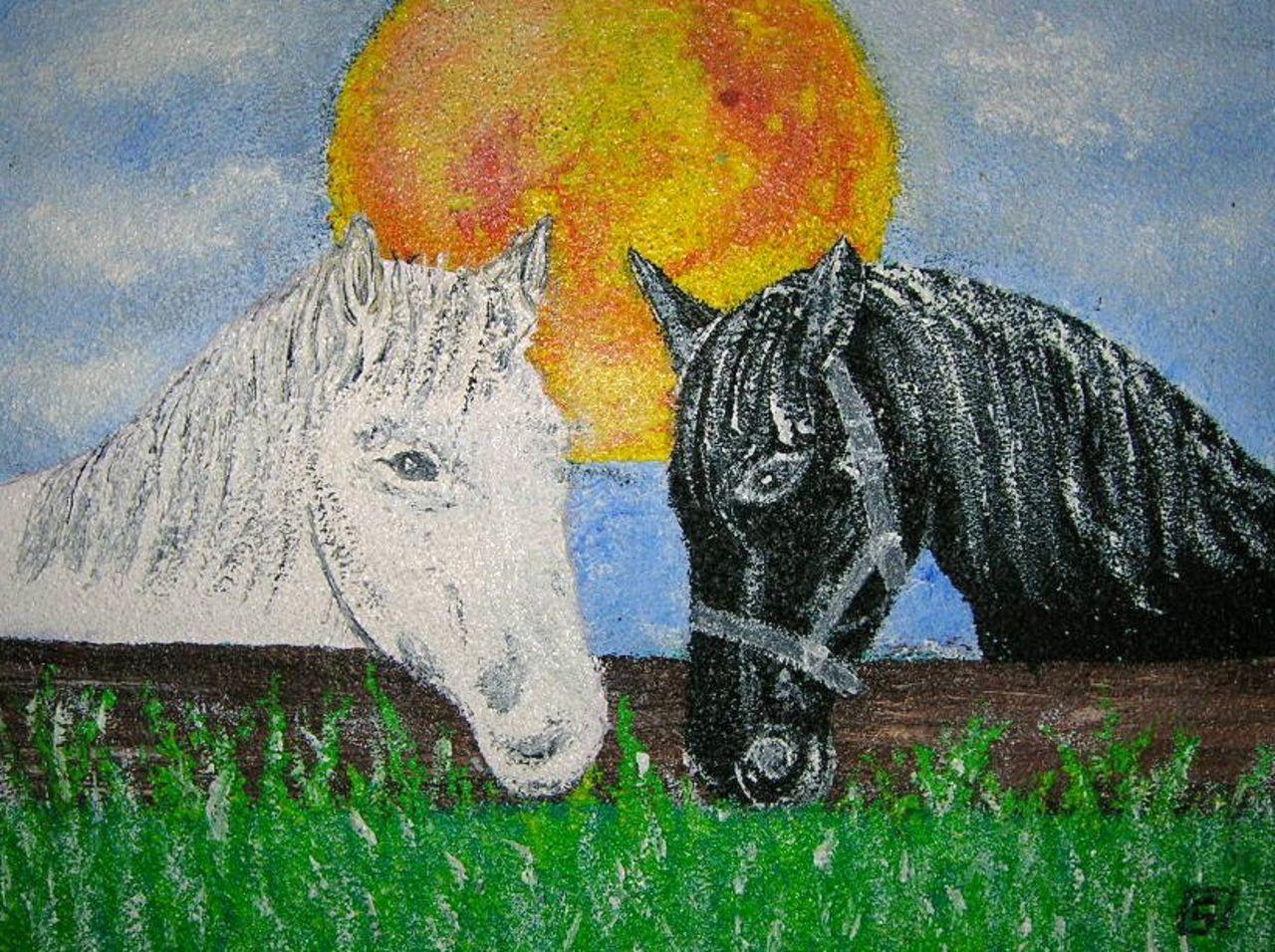 stephane LEVEZIELLE les chevaux