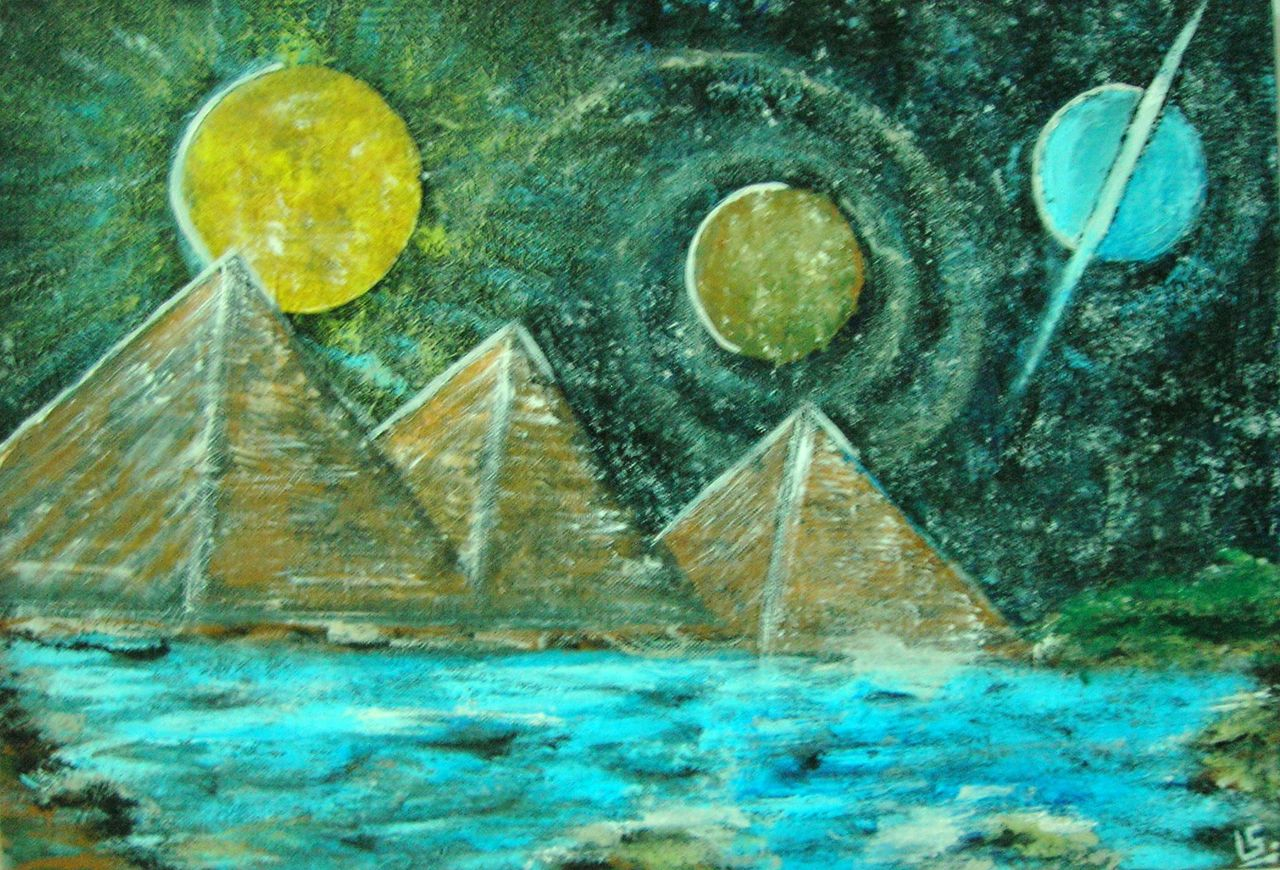 stephane LEVEZIELLE Pyramides lunaire
