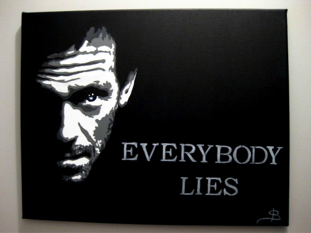 Stéphanie Bouchard Everybody lies