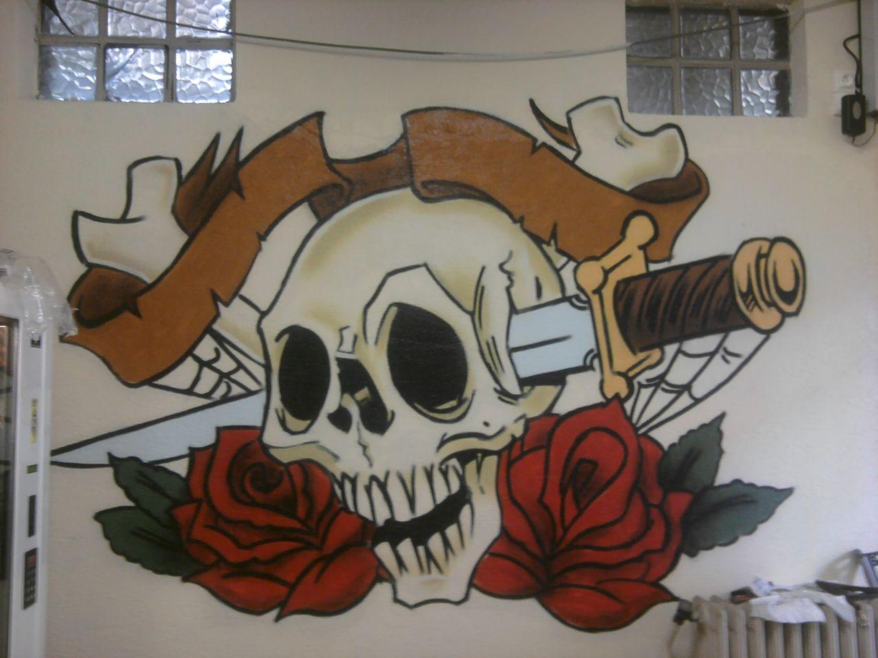 stiankr oner Skull Tattoo style