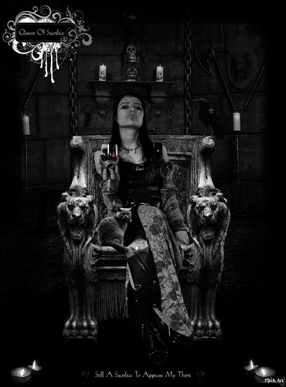 Studio Pitch Art Queen Of Sacrifice