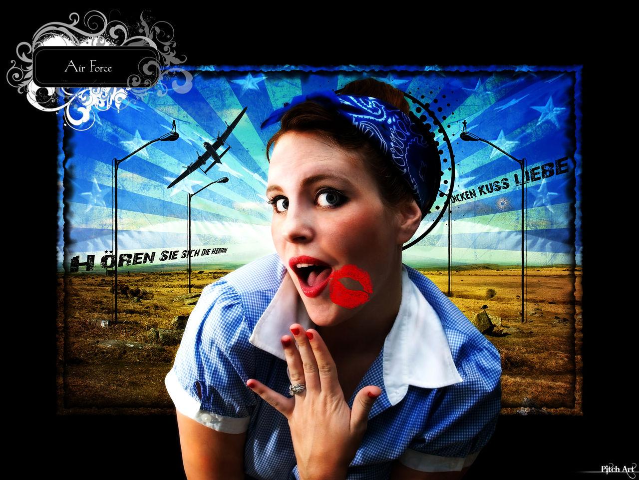 Studio Pitch Art Air Force ''Color''