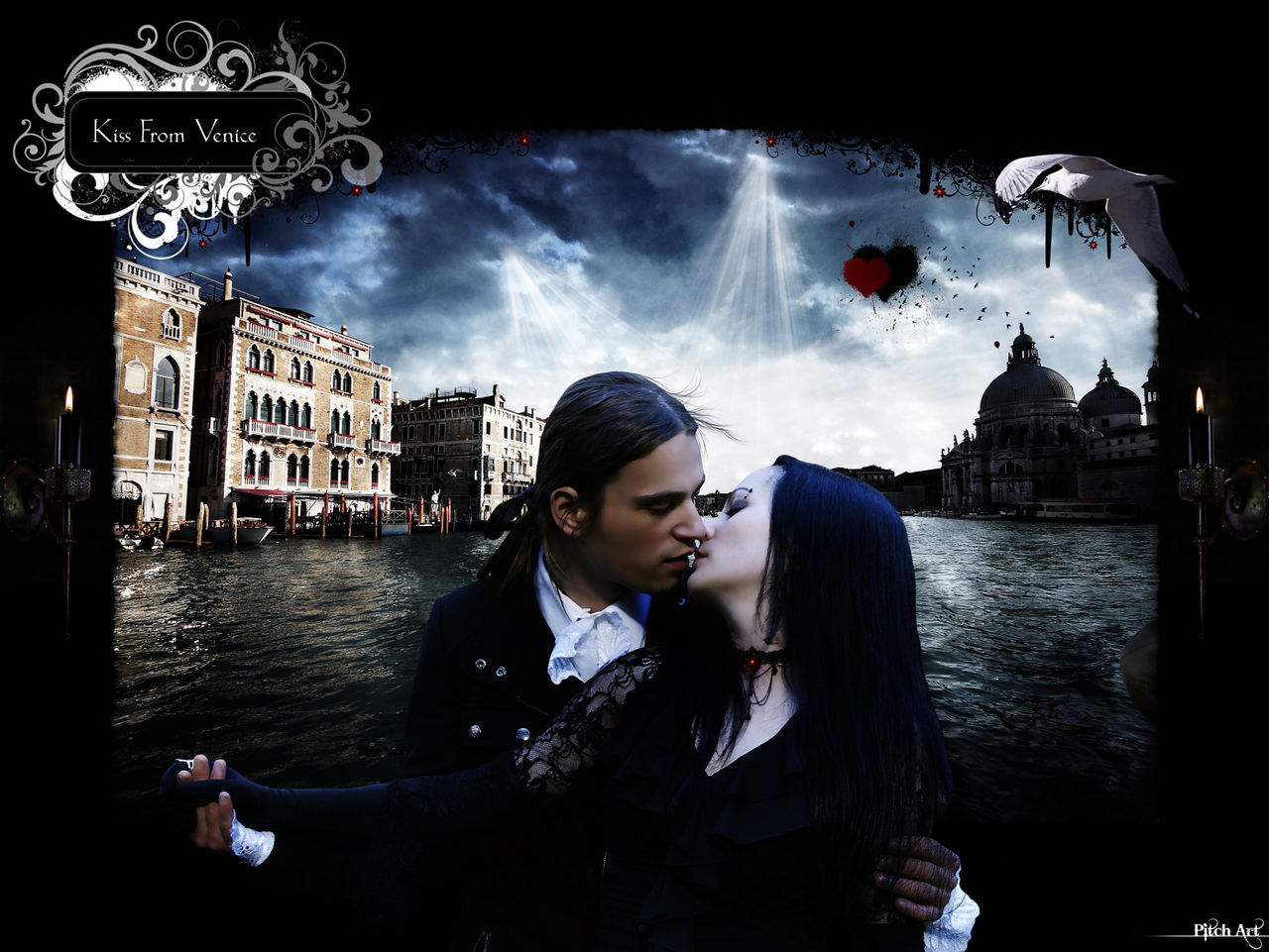 Studio Pitch Art Kiss From Venice ''Color''