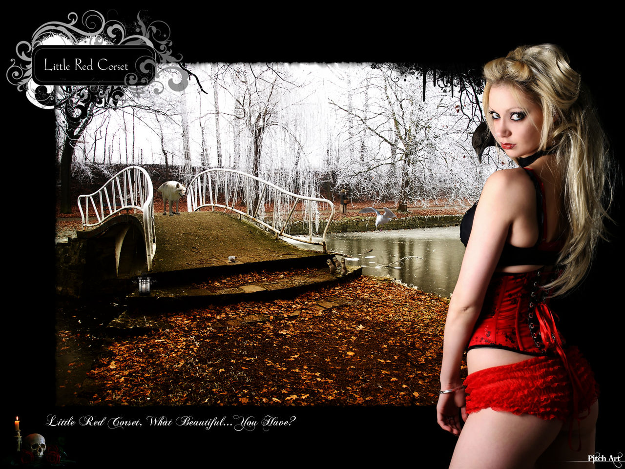 Studio Pitch Art Little Red Corset ''Color''