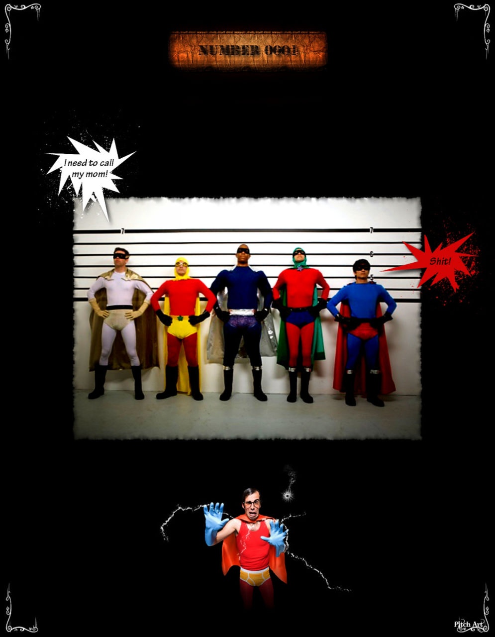 Studio Pitch Art Band Of Heroes