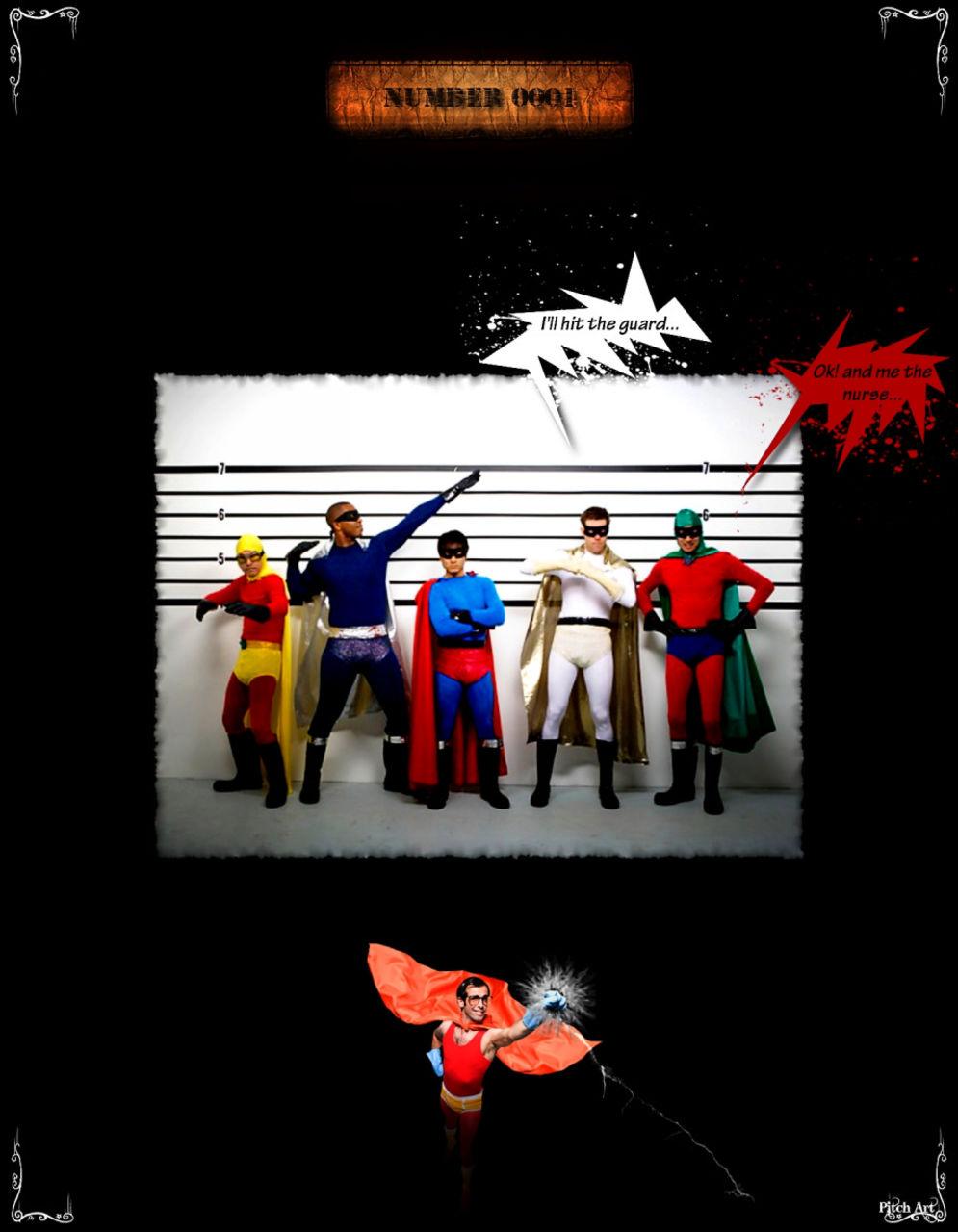 Studio Pitch Art Band Of Heroes ''V2''