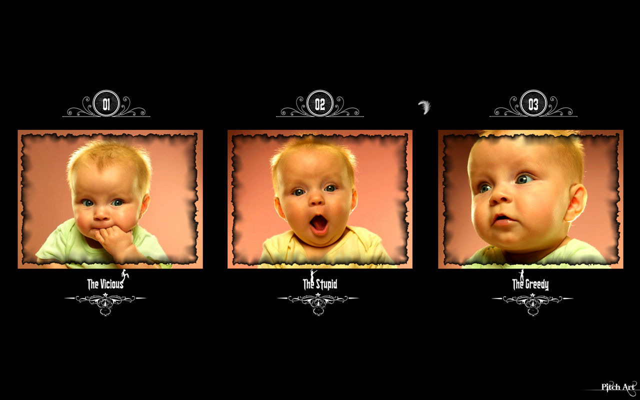 Studio Pitch Art Expression Of Baby