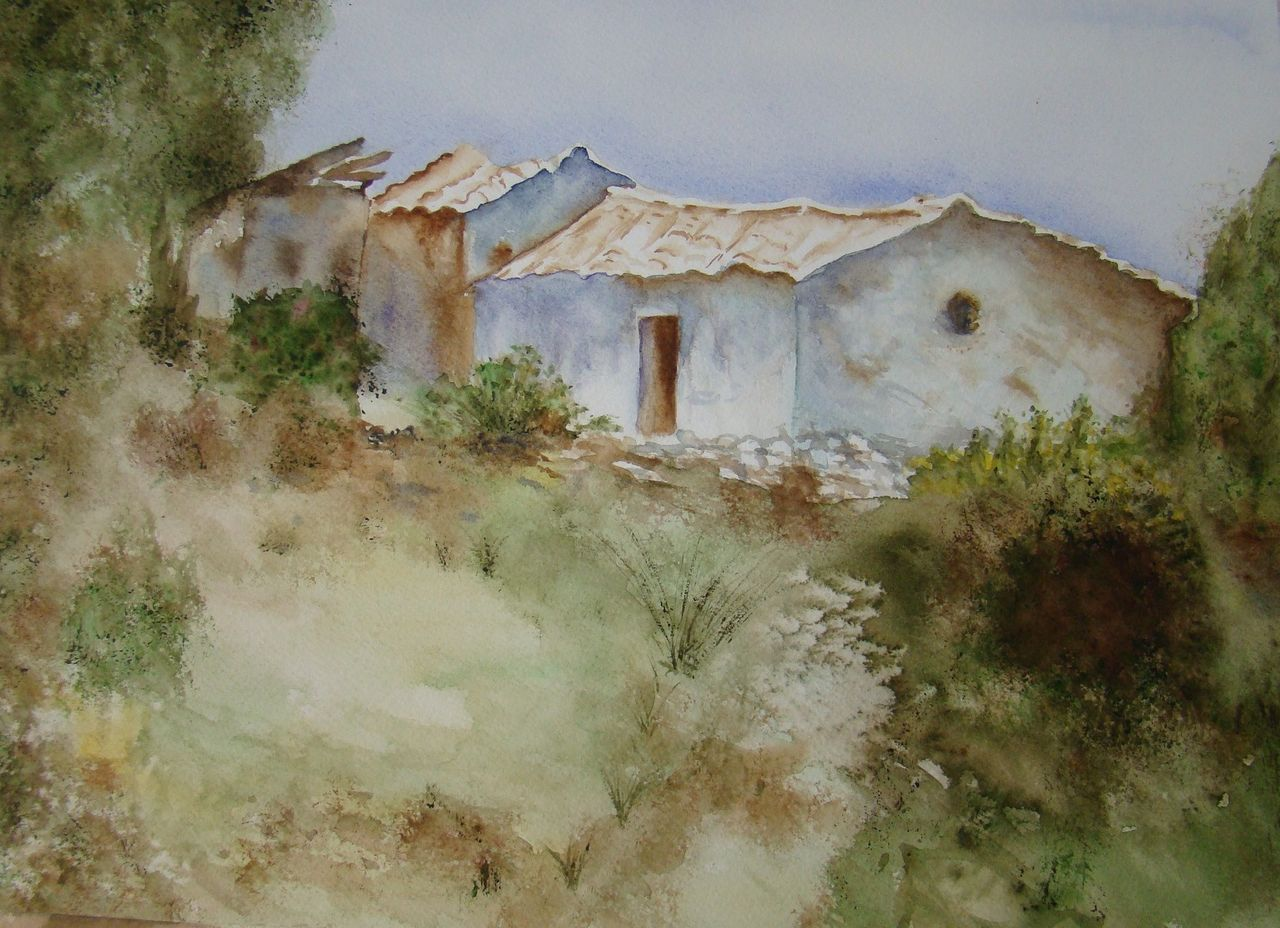 Sylviane MRL essai aquarelle Février 2011