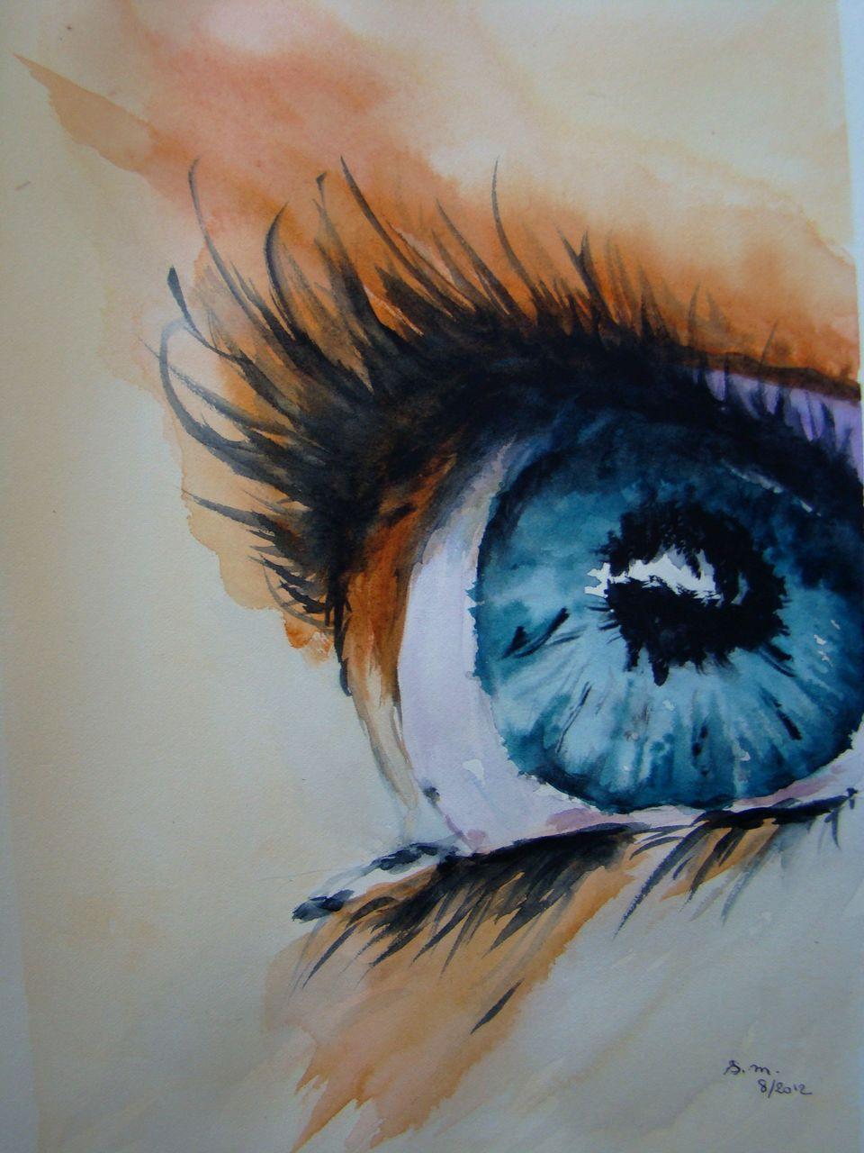 Sylviane MRL OEIL bleu