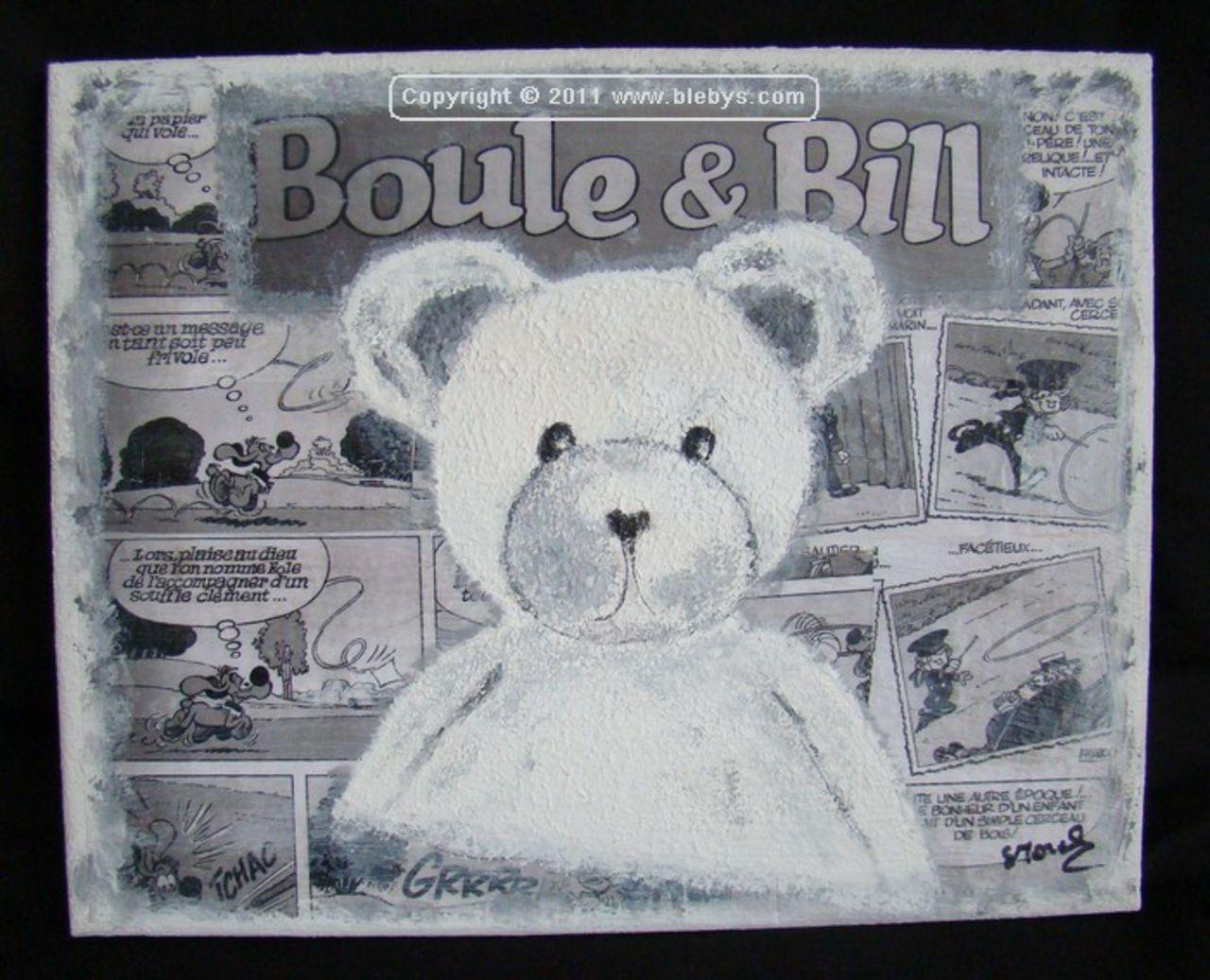 Sylviane MRL tableau1  OURS Boule et Bill