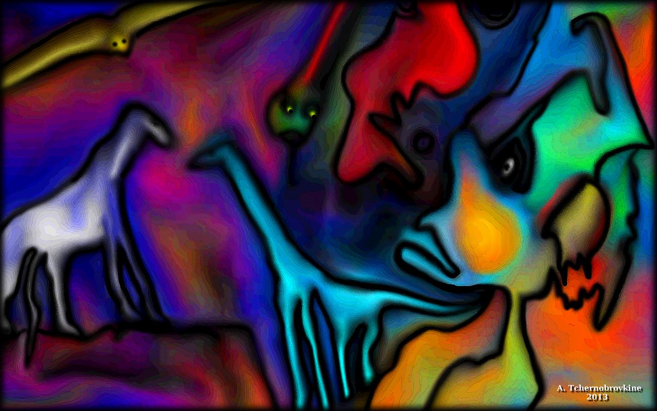 TCHERNOBROVKINE Alexandre L'homme des cavernes