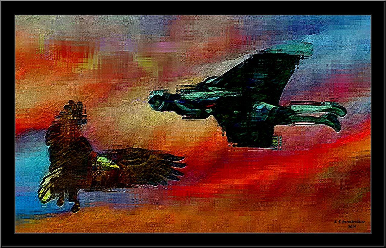 TCHERNOBROVKINE Alexandre L'homme et l'oiseau