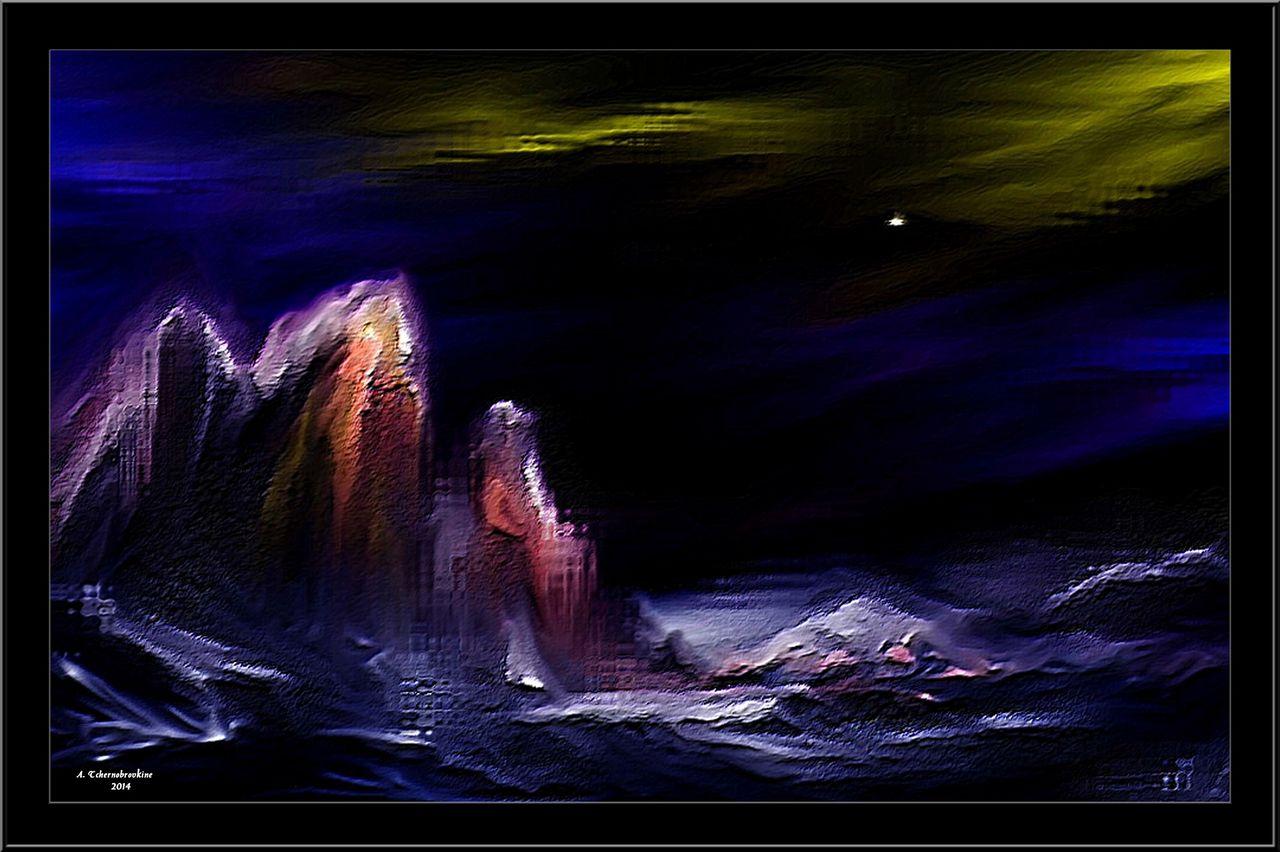 TCHERNOBROVKINE Alexandre La nuit au Pôle Nord