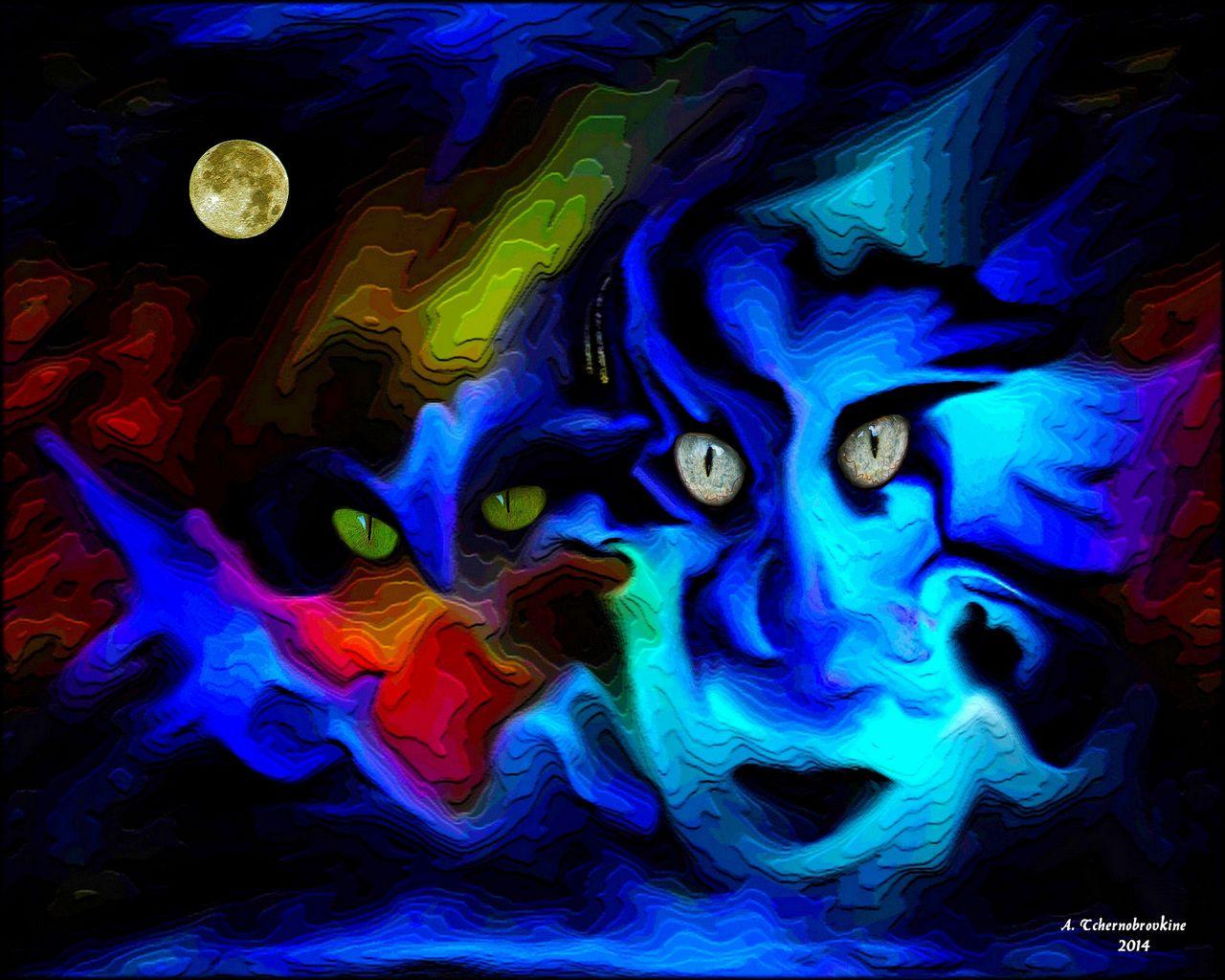 TCHERNOBROVKINE Alexandre Les masques de la pleine lune