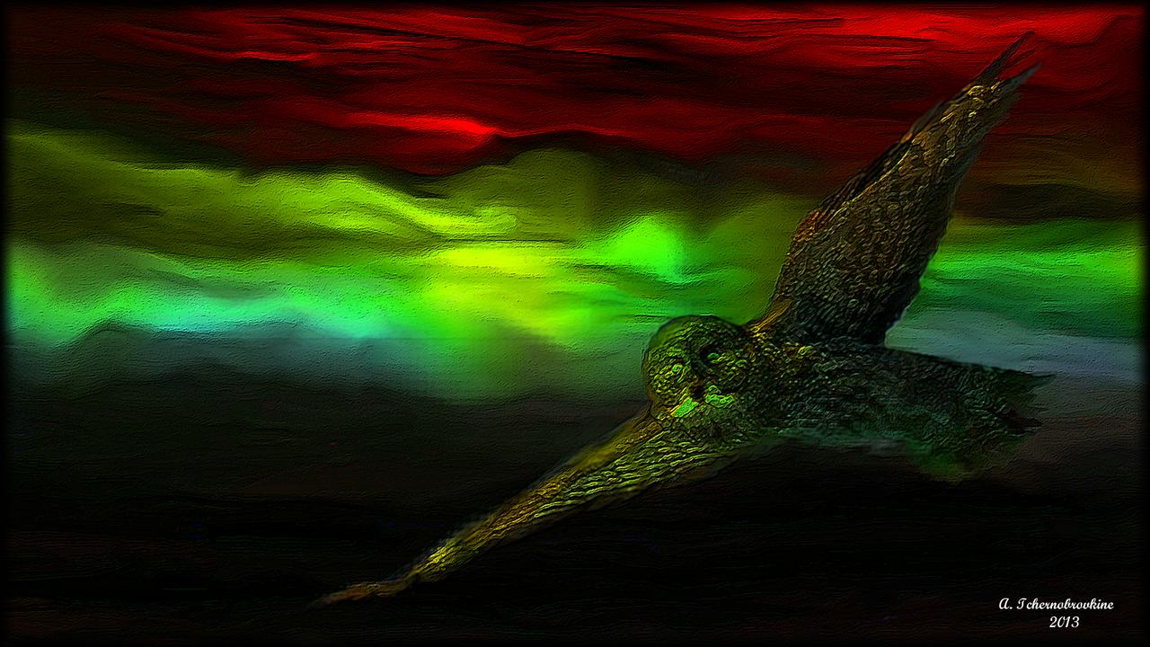 TCHERNOBROVKINE Alexandre Le vol du Hibou
