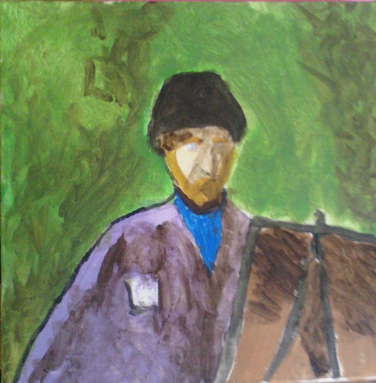 timothée desplanque premiere peinture