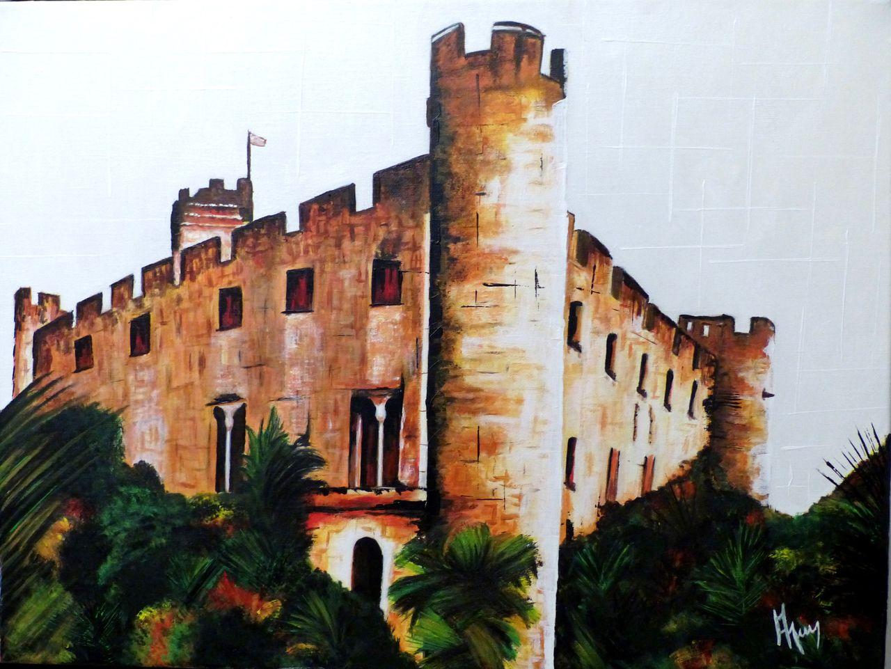 veronique AGUILLON Le château (Villeneuve Loubet)