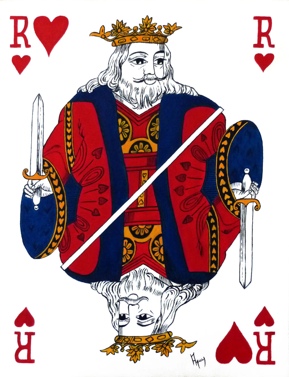 veronique AGUILLON le roi de coeur