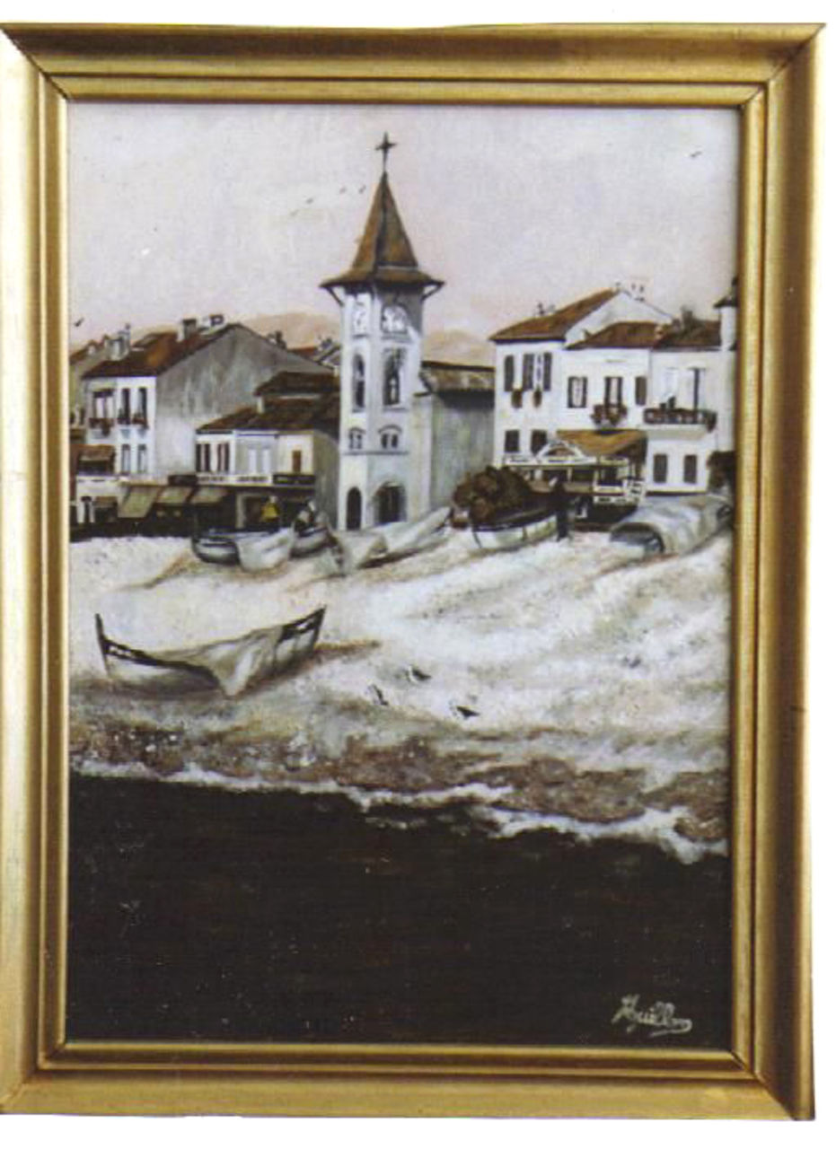 veronique AGUILLON Eglise du Cros de Cagnes (alpes-maritimes)