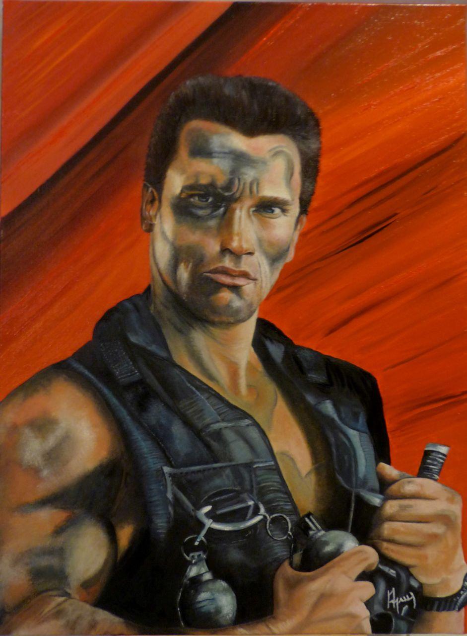 veronique AGUILLON Arnold Schwarzenegger