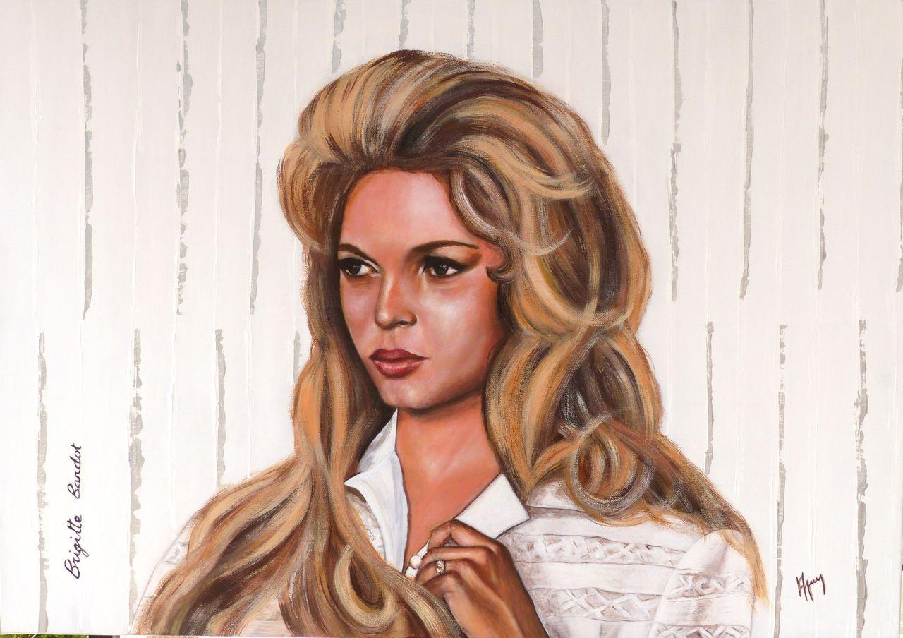 """veronique AGUILLON Brigitte Bardot """"année 1956"""""""
