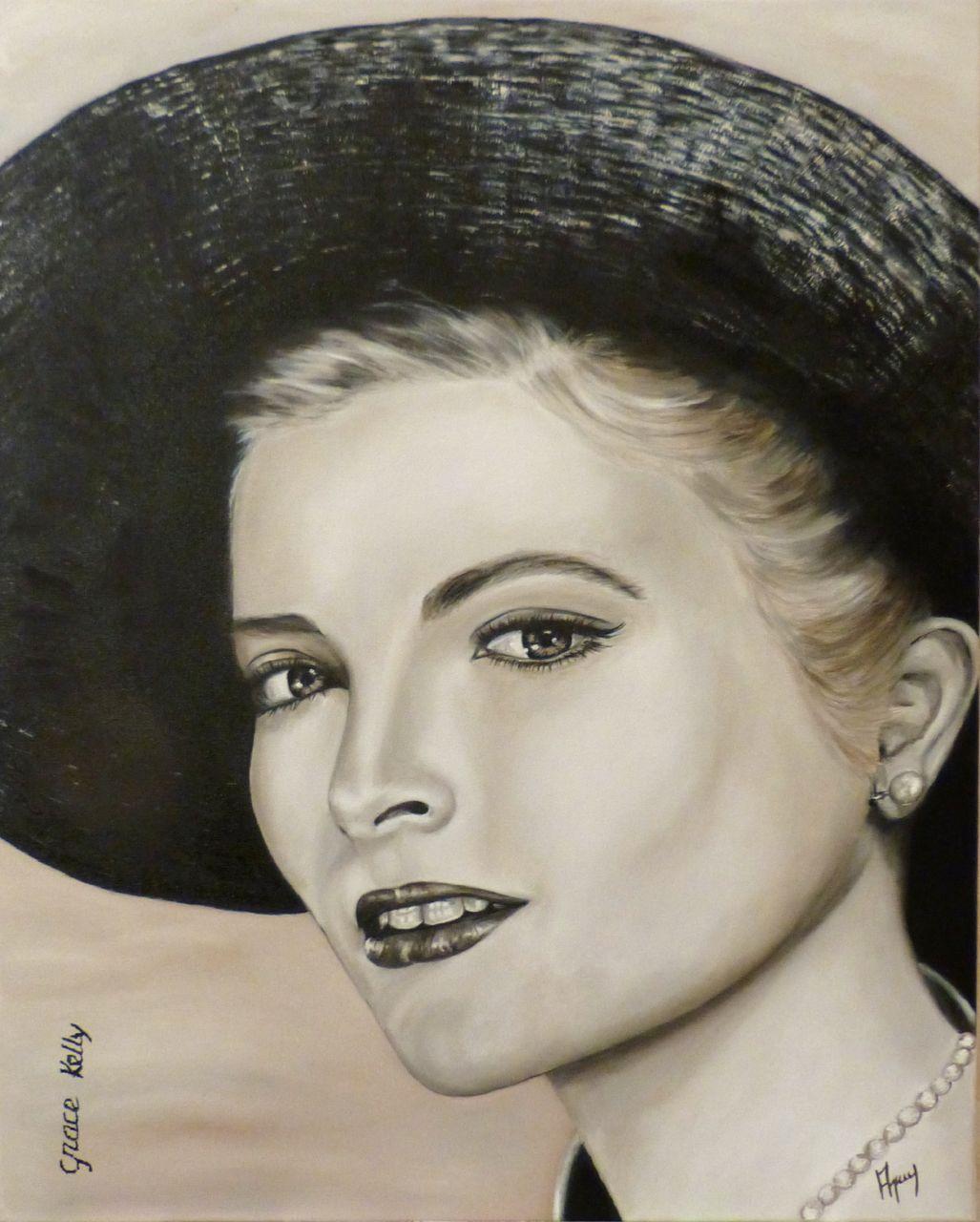 veronique AGUILLON Grace Kelly (Princesse de Monaco)