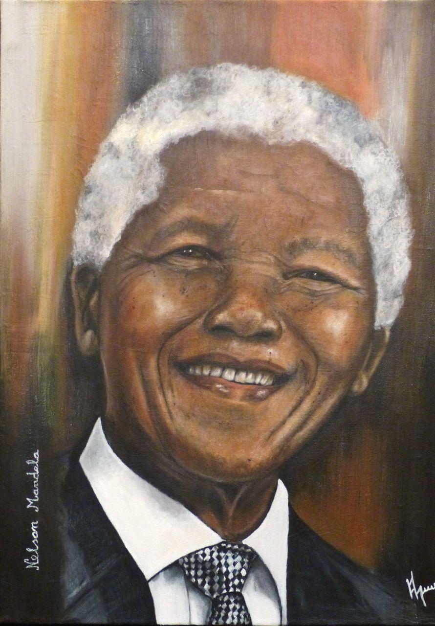 veronique AGUILLON Nelson Mandela