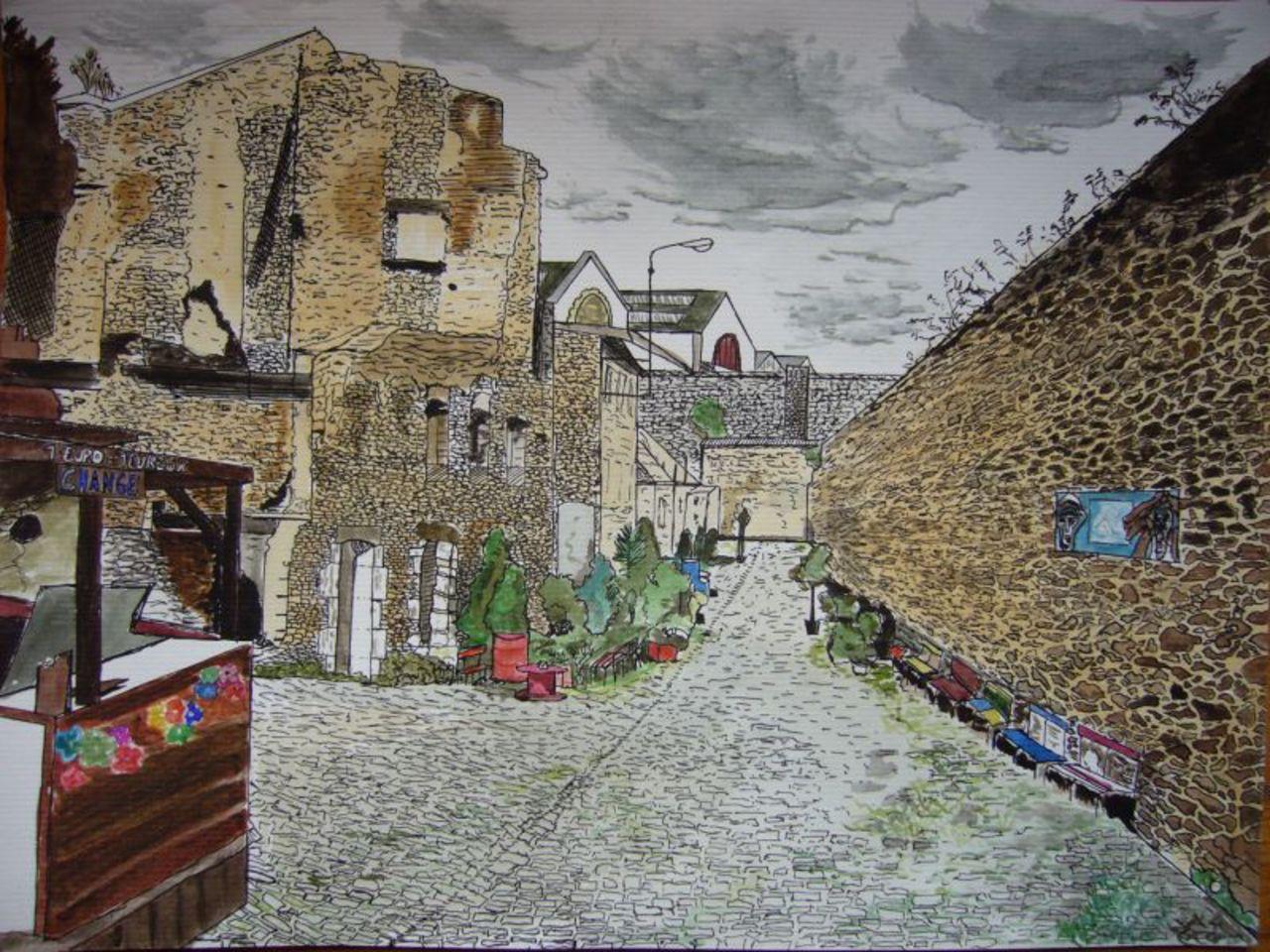 Yann Olifant Rue de Saint Malo (Brest)