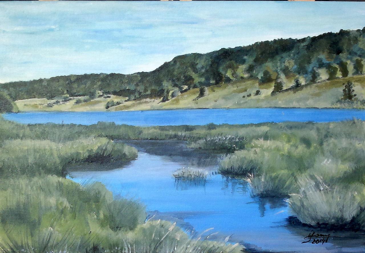 YolandedeComblesdeNayves 112 - Lac des Mortes
