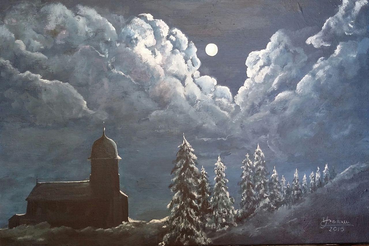 YolandedeComblesdeNayves 212-Bellefontaine de nuit