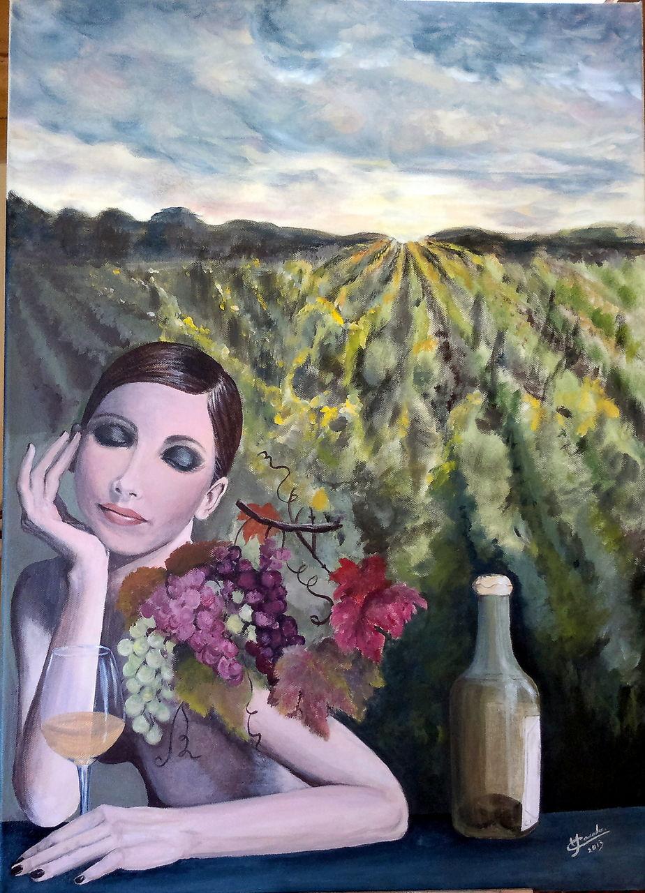 YolandedeComblesdeNayves 87 - Le vin au féminin
