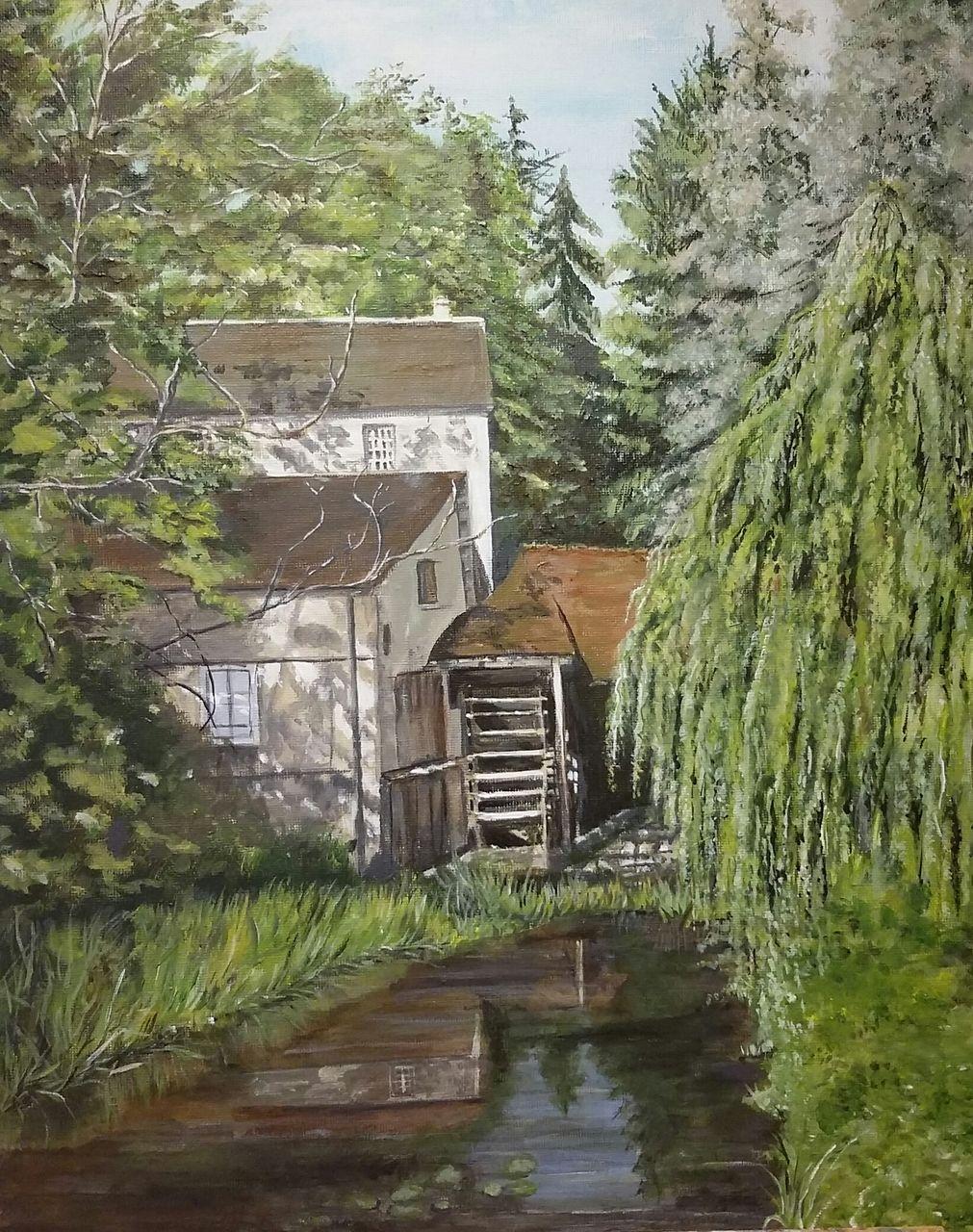 YolandedeComblesdeNayves Moulin du Chautay