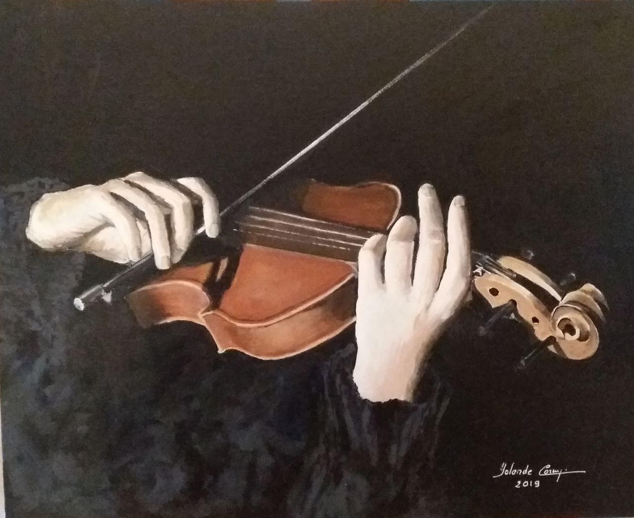YolandedeComblesdeNayves violoniste