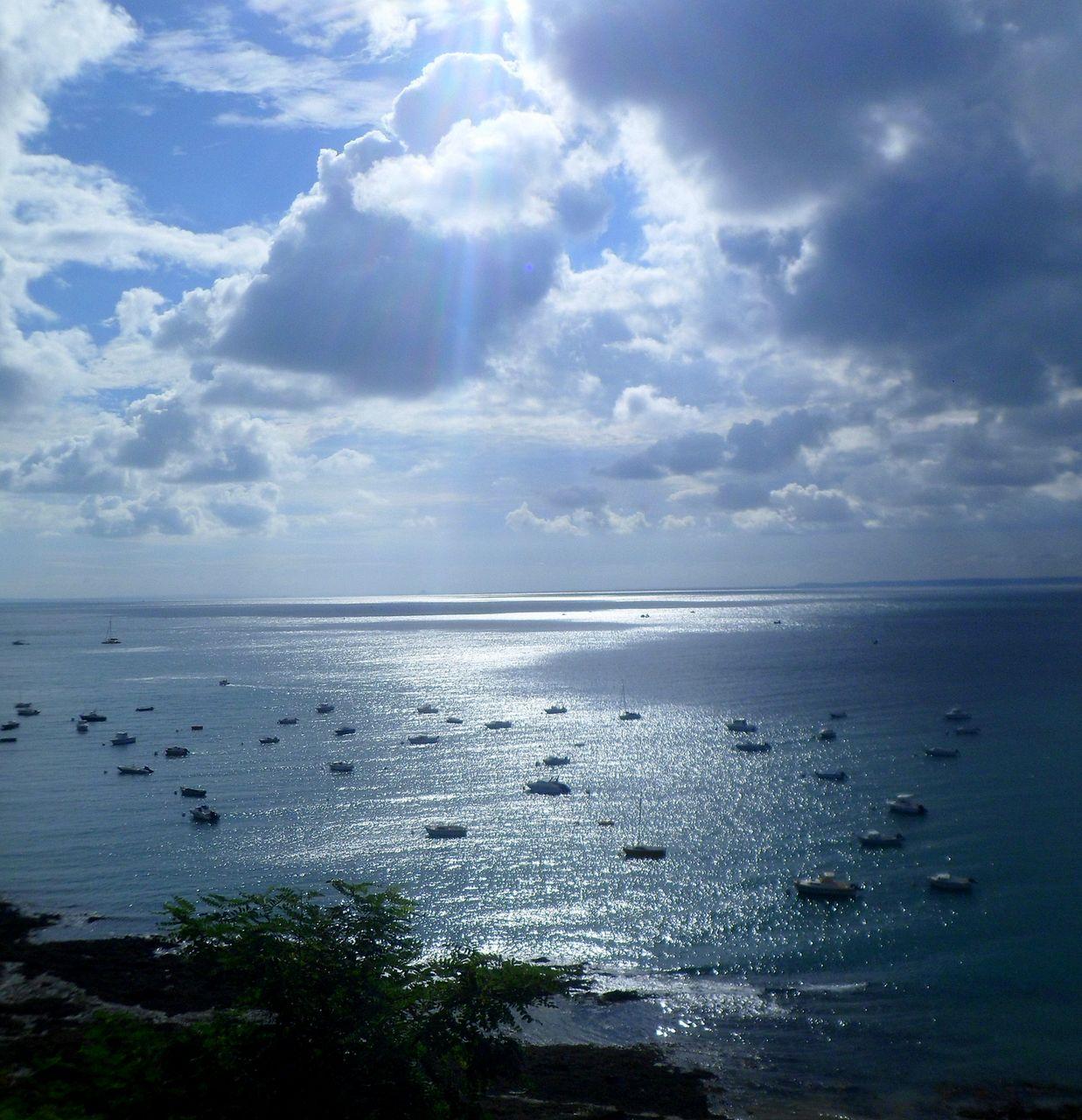 yves molac au matin dans la baie du Mont st MICHEL