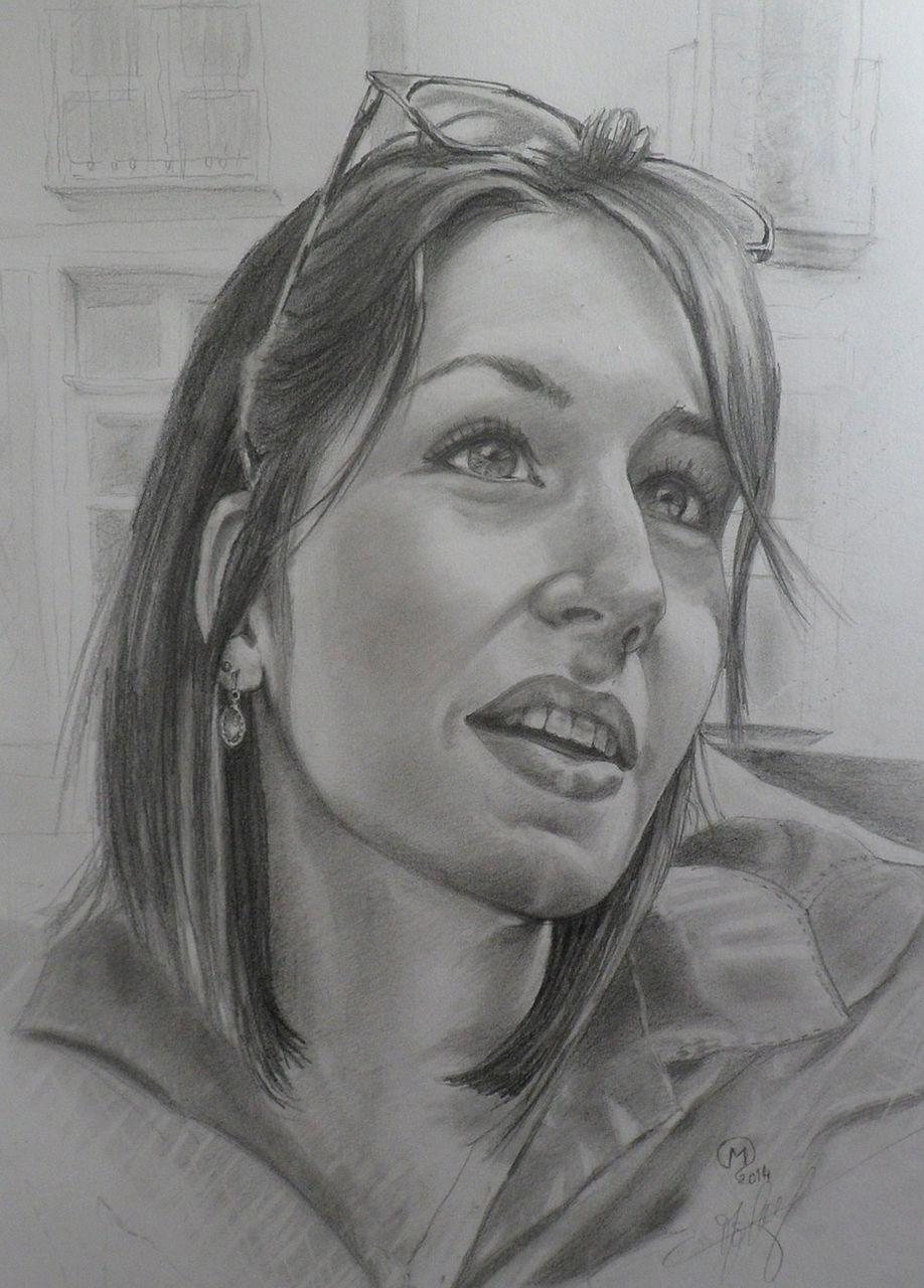 yves molac portrait de Liza