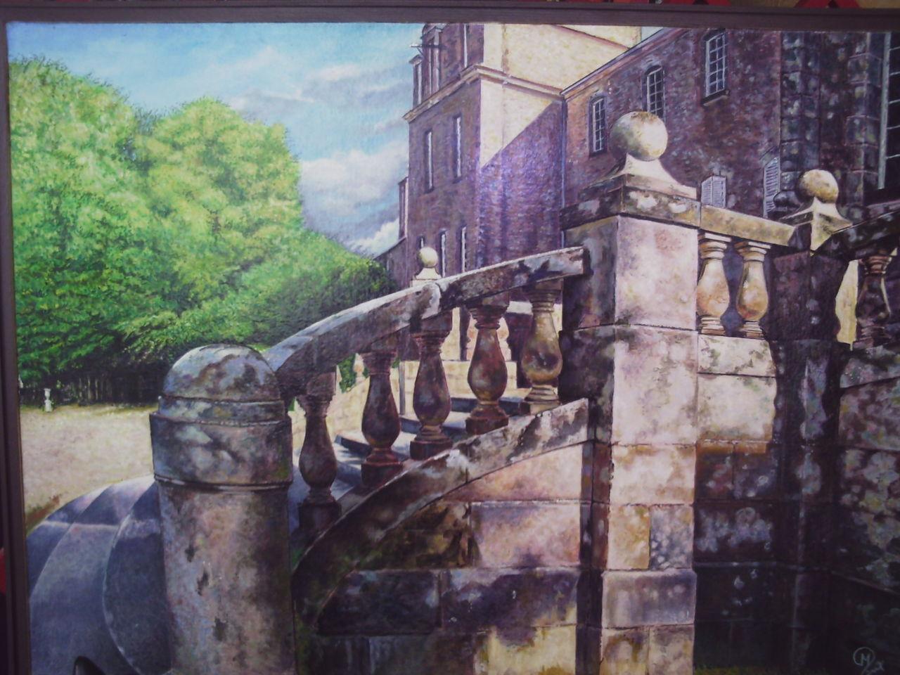 yves molac escalier du chateau