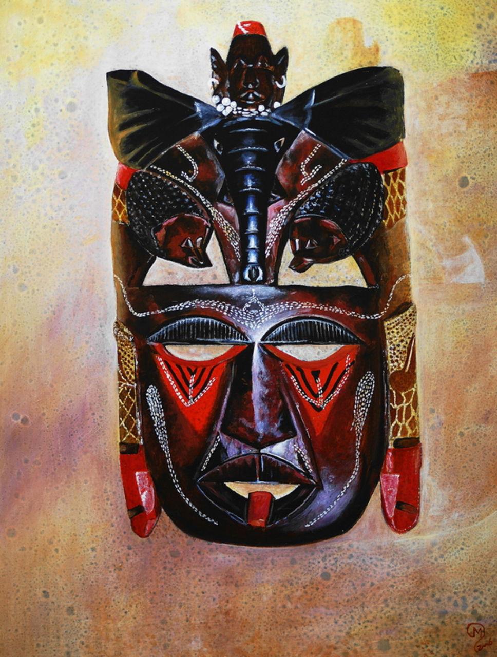 yves molac masque d afrique