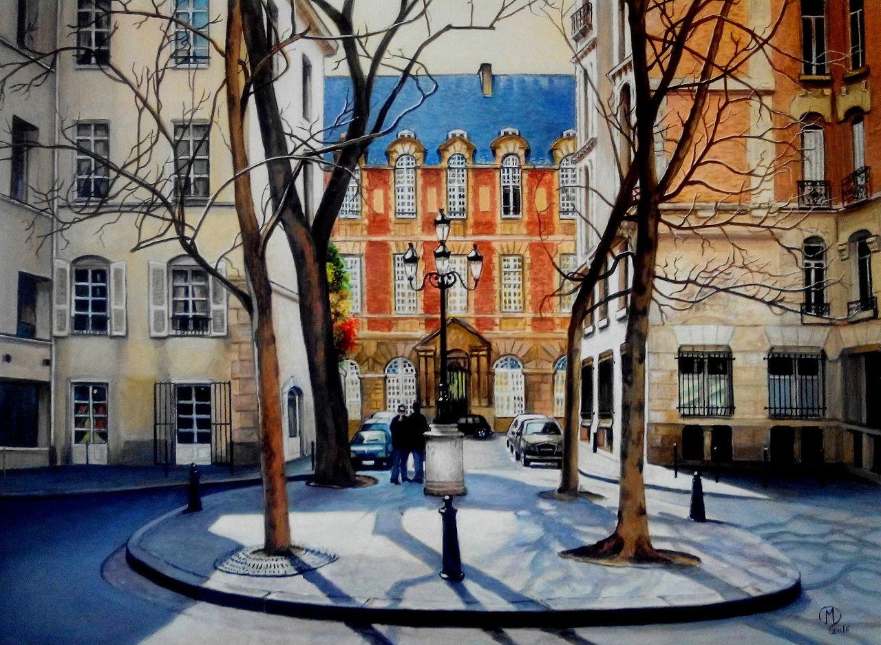 yves molac petite place  Paris