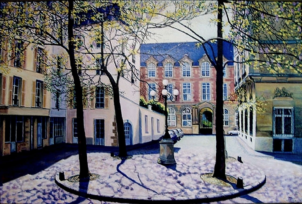 yves molac place Furstenberg Paris